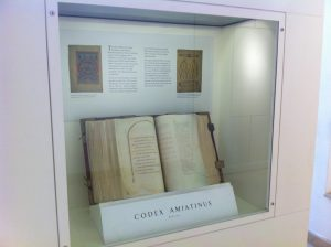 The Codex Amiatinus on display