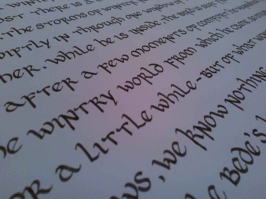Calligraphy Styles - Creative Calligraphy