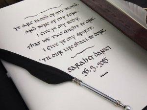 guest book uncial