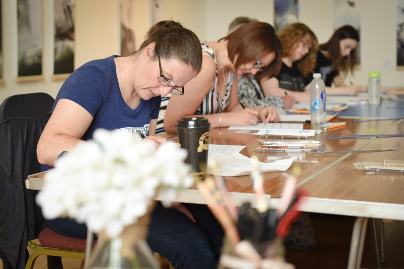 calligraphy workshops business
