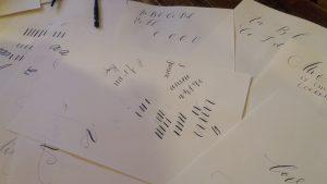 modern calligraphy imogen 3