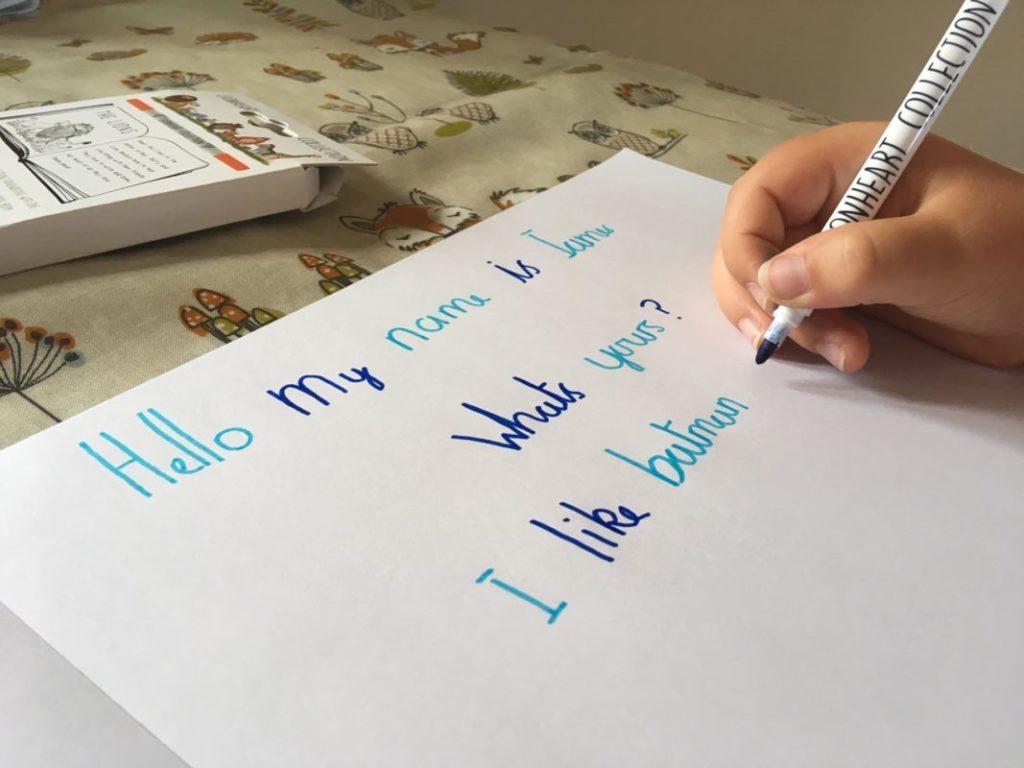 lionheart writing