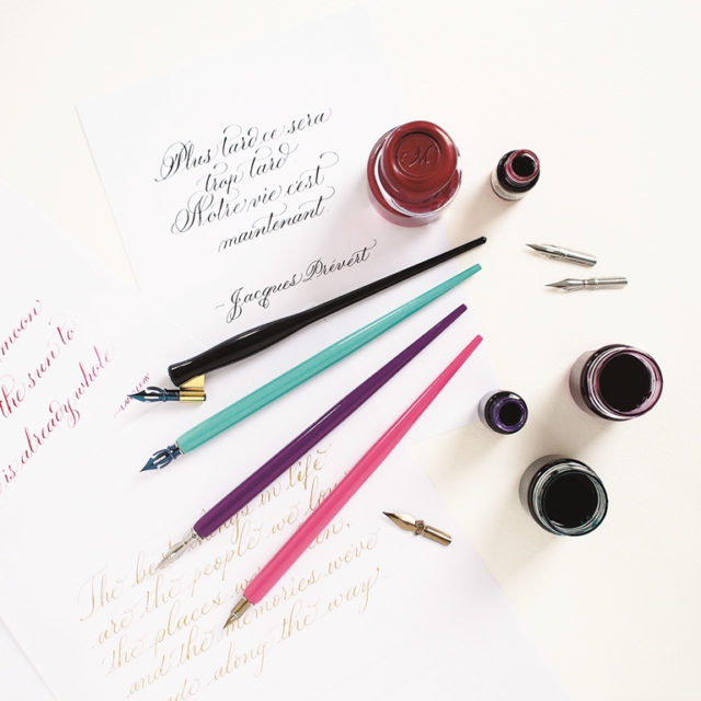 Choosing the right paper for calligraphy