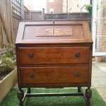 Upcycling a Vintage Writing Desk