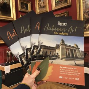 autumn art booklets