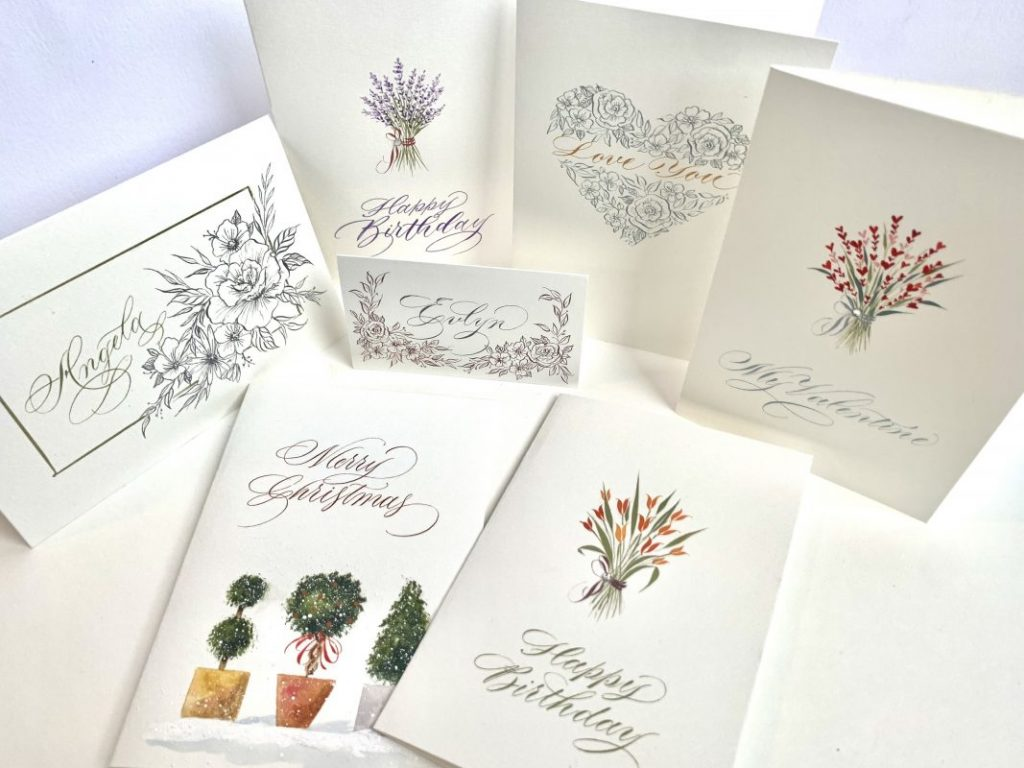 Joanne Taylor Calligraphy 1